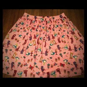 """""""Alice in Wonderland"""" skirt"""